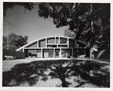 thumbnail image for Geller House II, Lawrence, New York. Marcel Breuer and Herbert Beckhard, architects. Ben Schnall, photographer