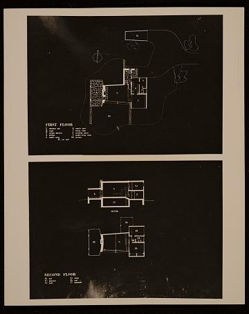 thumbnail image for Marcel Breuer House, Lincoln, Mass., floor plan