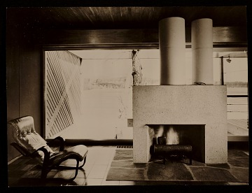thumbnail image for Caesar Cottage, Lakeville, Conn., designed by Marcel Breuer. Interior view