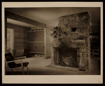thumbnail image for Chaimberlain Cottage, Wayland, Mass., designed by Marcel Breuer. Interior view
