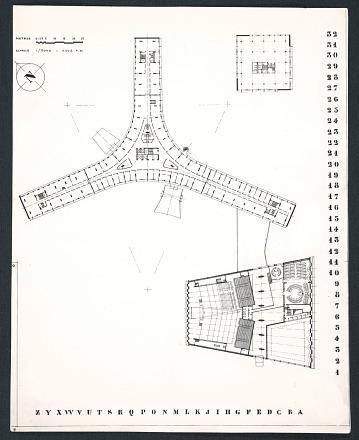 thumbnail image for Plans for the UNESCO headquarters building in Paris