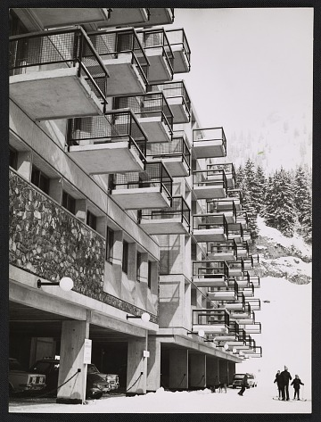thumbnail image for View of the Flaine Ski Resort in Haute-Savoie, France