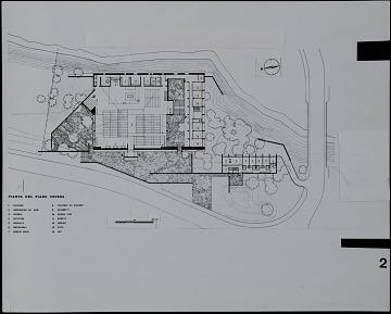 thumbnail image for Site Plan for Olgiata Parish Church, Rome, Italy