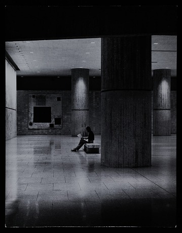 thumbnail image for Interior photograph of Hubert Humphrey Building, Department of Health, Education, and Welfare (HEW) Headquarters, Washington, D.C.