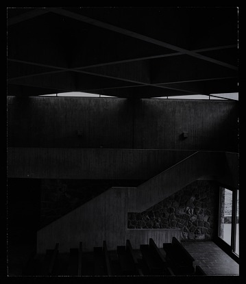 thumbnail image for Interior photograph of chapel at the Baldegg Convent near Luzerne, Switzerland