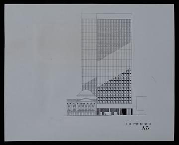 thumbnail image for Rendering of Bank and Office Building of the Cleveland Trust Company, Cleveland, Ohio