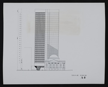 thumbnail image for Euclid Avenue and East 9th Street elevations, Cleveland Trust Company