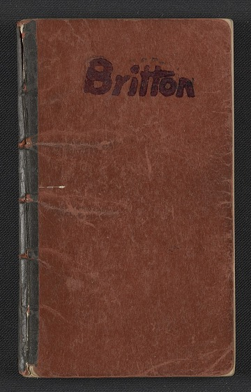 thumbnail image for James Britton's address book
