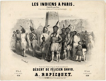 thumbnail image for 'Les Indiens a Paris'