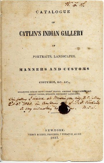 thumbnail image for Catlin's Indian Gallery, New York