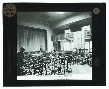 thumbnail image for Interior view of Little Theater at Detroit Society of Arts and Crafts building at 47 Watson Street, Detroit