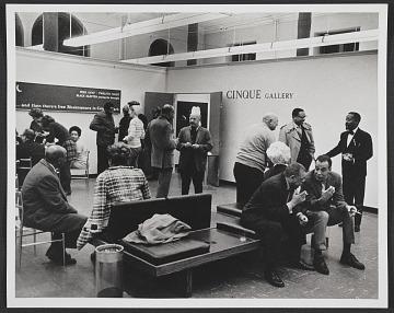 thumbnail image for Inaugural year reception at Cinque Gallery