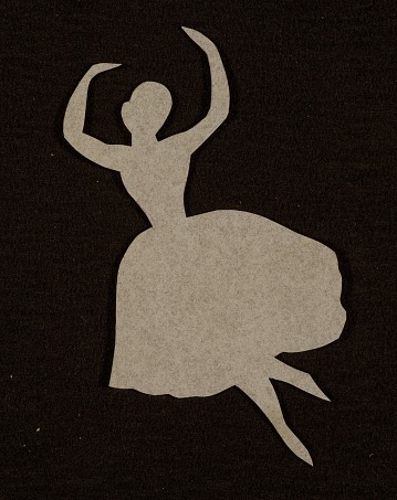 thumbnail image for Ballerina cutout