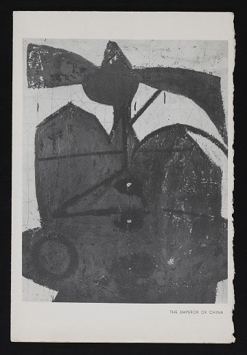 thumbnail image for Kootz Gallery catalog for exhibition <em>Paintings and collages by Motherwell</em>