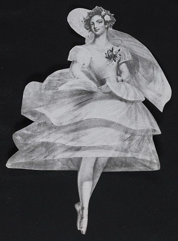 thumbnail image for Clipping of a ballet dancer