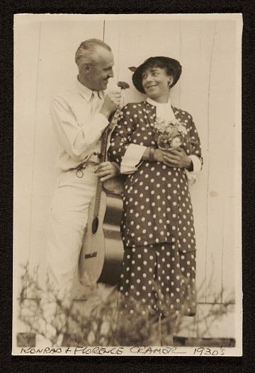 thumbnail image for Konrad and Florence Ballin Cramer papers, 1897-1968