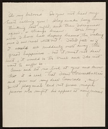 thumbnail image for Florence Ballin Cramer letter to Konrad Cramer