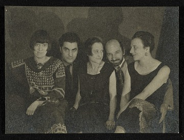 thumbnail image for Louise Norton-Varèse, Edgard Varèse, Suzanne Duchamp, Jean Crotti, and Mary Reynolds