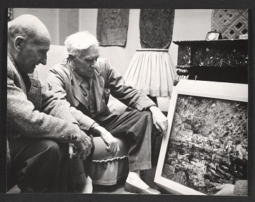 thumbnail image for Jean Crotti and Georges Braque