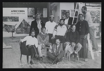 thumbnail image for Postcard for <em>AFRICOBRA: the First Twenty Years</em> at Nexus Contemporary Art Center, Atlanta, GA