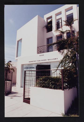 thumbnail image for Dorothy Goldeen Gallery records, 1960-circa 2014, bulk 1987-1996