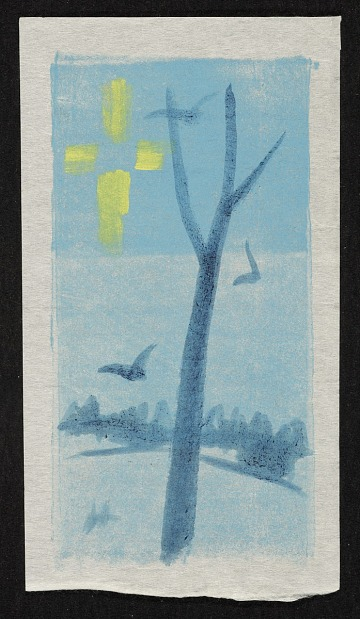 thumbnail image for Winter scene with tree and birds
