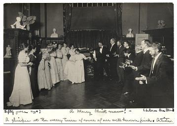thumbnail image for Reception in Bessie Potter Vonnoh's studio