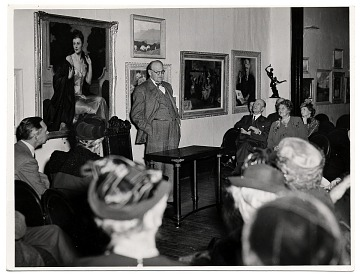 thumbnail image for Frank DuMond at the National Arts Club