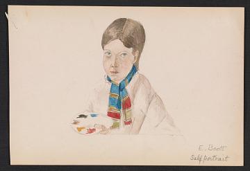 thumbnail image for Elizabeth Boott Duveneck self portrait