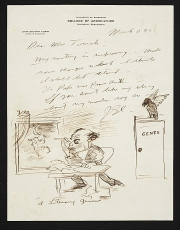 thumbnail image for Margaret D. Engle letters from artists, 1937-1943