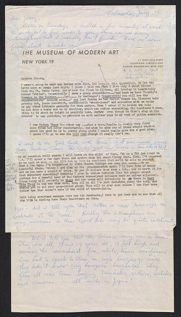 thumbnail image for John Button letter to Gerald Langston Fabian