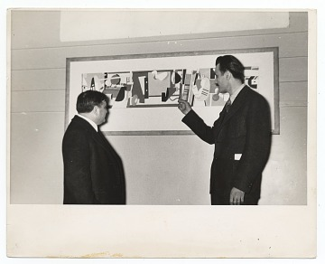 thumbnail image for Arshile Gorky and Fiorello La Guardia at the opening of the Federal Art Gallery