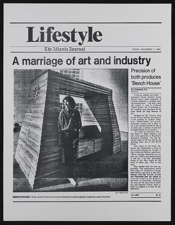thumbnail image for Jackie Ferrara printed material, 1964-2012