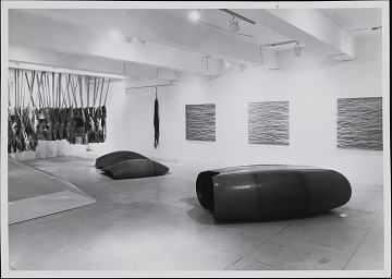 thumbnail image for Installation photograph of <em>Eccentric Abstraction</em> show at Fischbach Gallery in New York City
