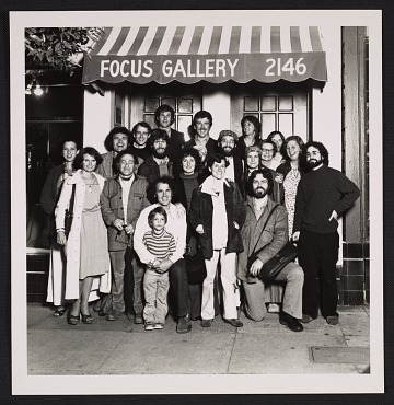 thumbnail image for Focus Gallery records, 1963-1987
