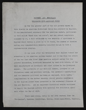 thumbnail image for Francis Patrick Garvan papers, 1867, 1912-1953