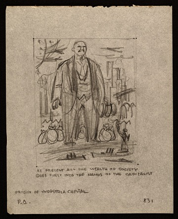 thumbnail image for Sketches from <em>Karl Marx's Capital in Lithographs</em>