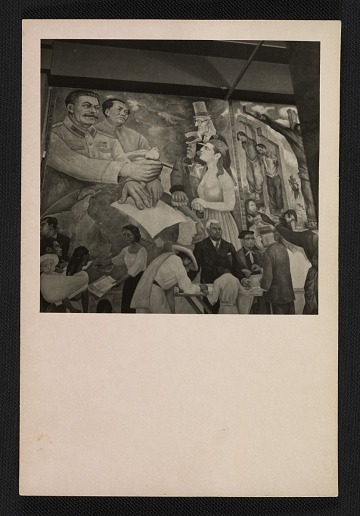 thumbnail image for Detail photograph of Diego Rivera's portable fresco <em>Nightmare of War, Dream of Peace</em>