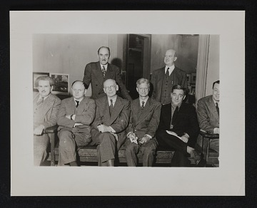 thumbnail image for Photograph of William Gropper with group of unidentified men