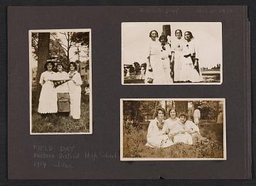 thumbnail image for Lena Gurr photograph album pages