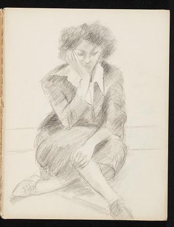 thumbnail image for Lena Gurr sketchbook No. 7