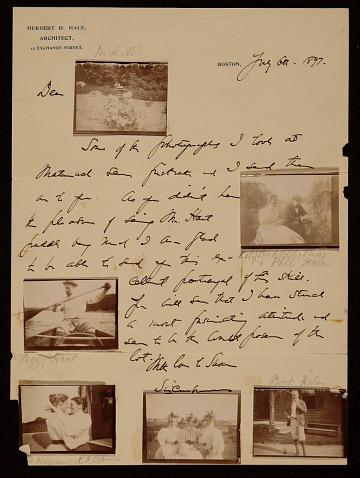 thumbnail image for Herbert D. Hale letter to Mary E. Williams