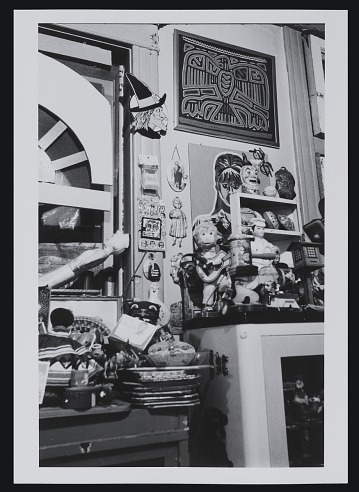 thumbnail image for Karl Wirsum's studio