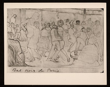 thumbnail image for Reproduction of <em>Bal noir de Paris</em>