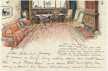 thumbnail image for Helen Ireland Hays papers concerning Paul Bransom, 1903-1979