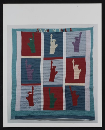 thumbnail image for Photograph of quilt by Sarah Mary Taylor