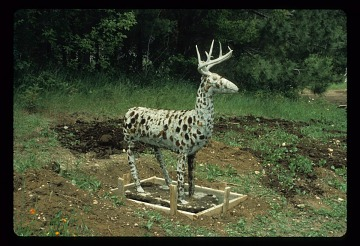 thumbnail image for Lone Deer Sculpture