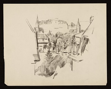thumbnail image for Sketch of a town