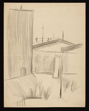 thumbnail image for Sketch of a building