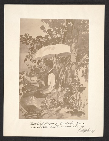 thumbnail image for William Henry Holmes artists' files, 1879-1955